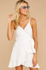 6 Just One Night White Dress at reddressboutique.com