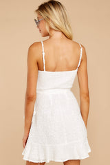 Just One Night White Dress