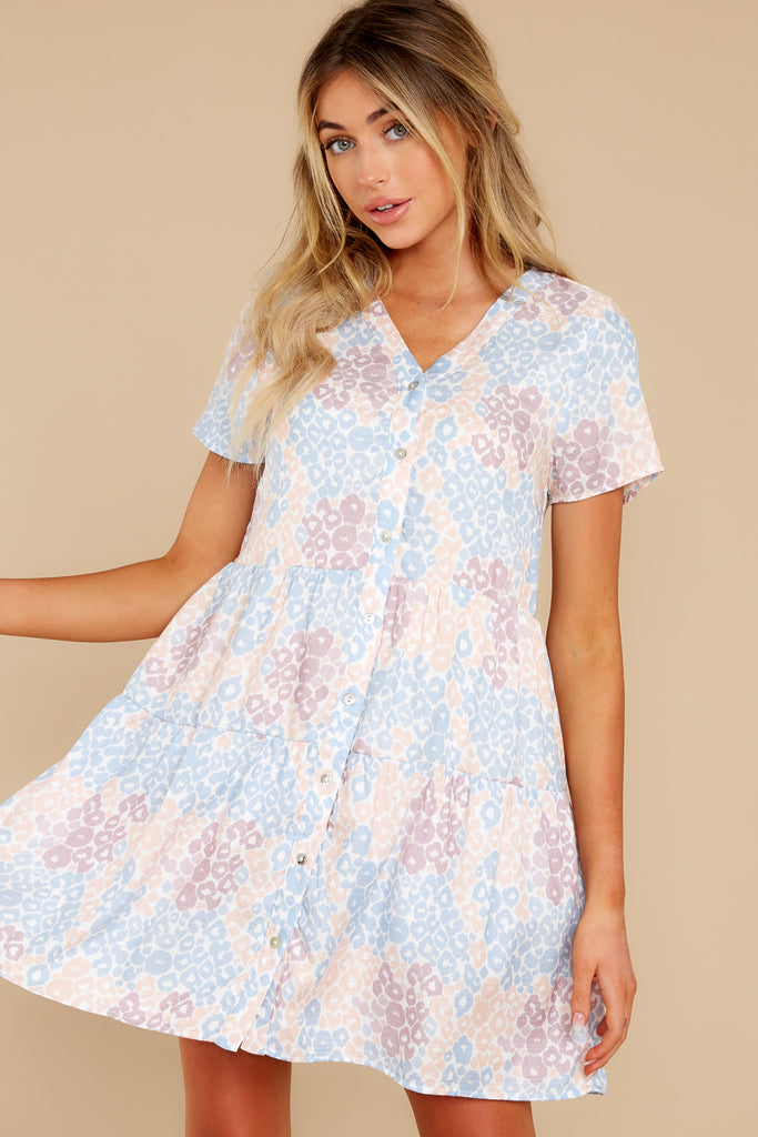 1 Stick By You Blue Haze Dress at redress.com
