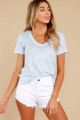 4 The Forever Blue Ridley Animal Tee at reddress.com