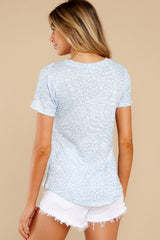 8 The Forever Blue Ridley Animal Tee at reddress.com