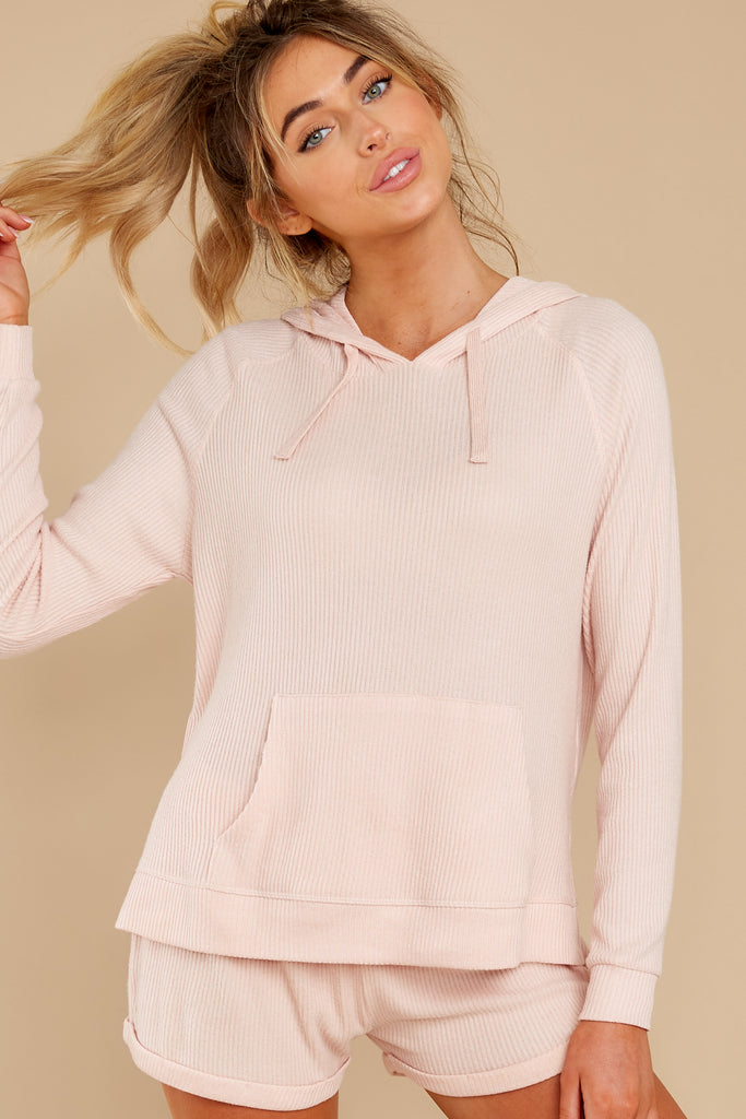 1 CozyChic Ultra Lite® Beach Rock Pullover Hoodie at reddressboutique.com