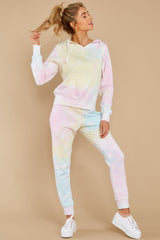 5 Electric Dreamer Sweet Confetti Tie Dye Joggers at reddress.com