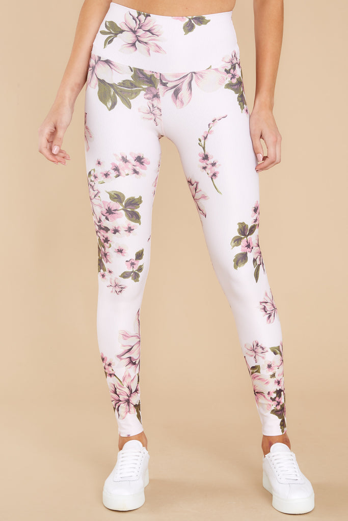 image_position Piper Pink Floral Leggings at reddress.com
