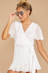 3 Carry Me Away White Romper at reddressboutique.com