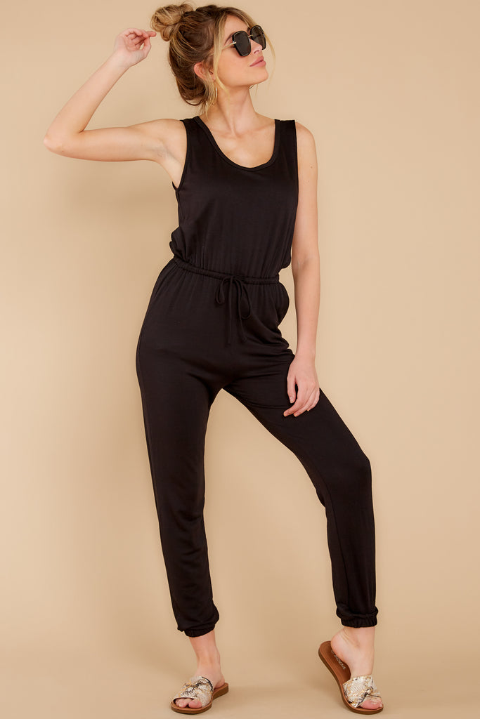 1 There's No One Else Black Jumpsuit at reddress.com