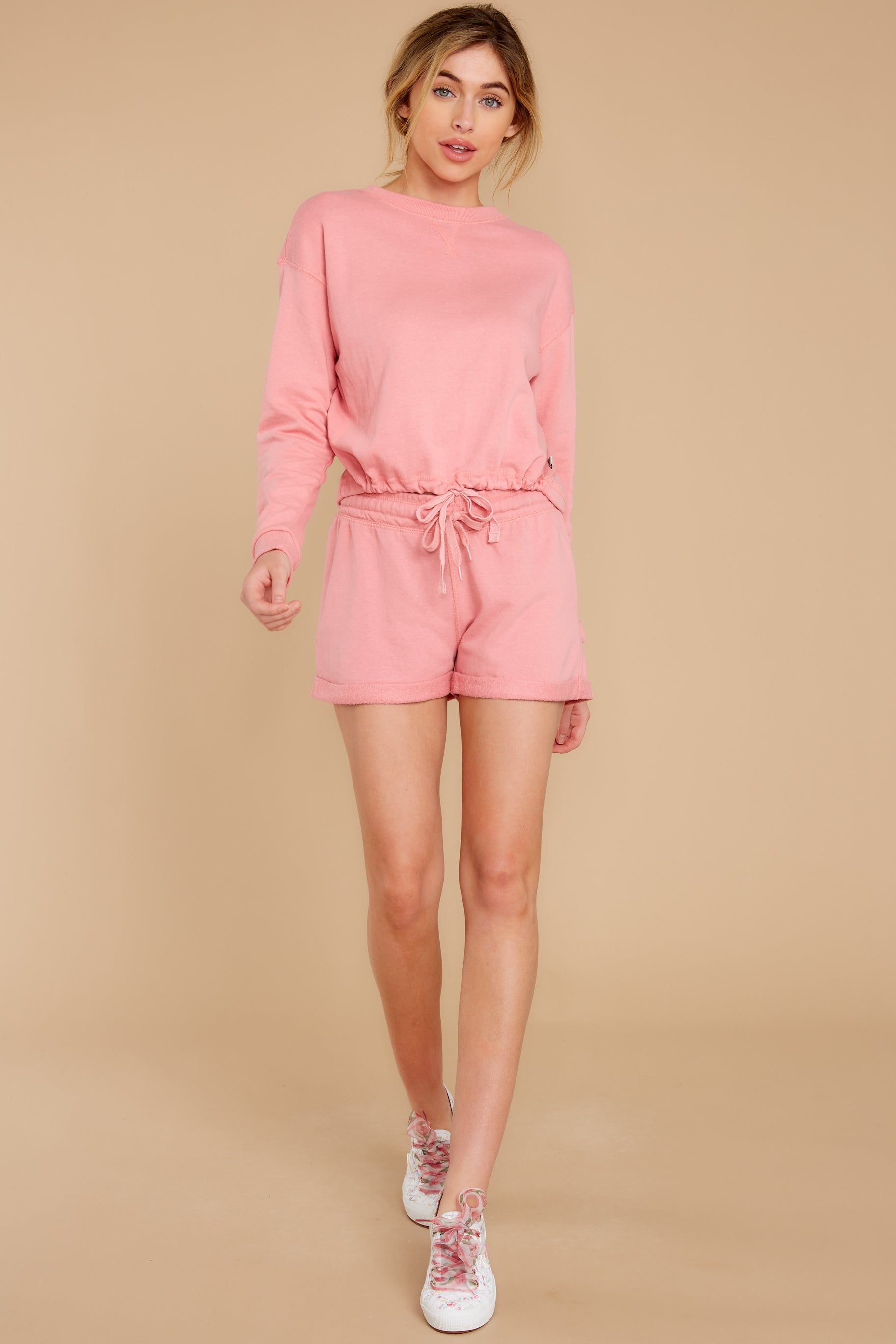 2 Cozy As Can Be Rose Pink Sweatshirt at reddress.com