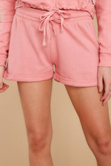1 Such A Sweetheart Rose Pink Shorts at reddress.com
