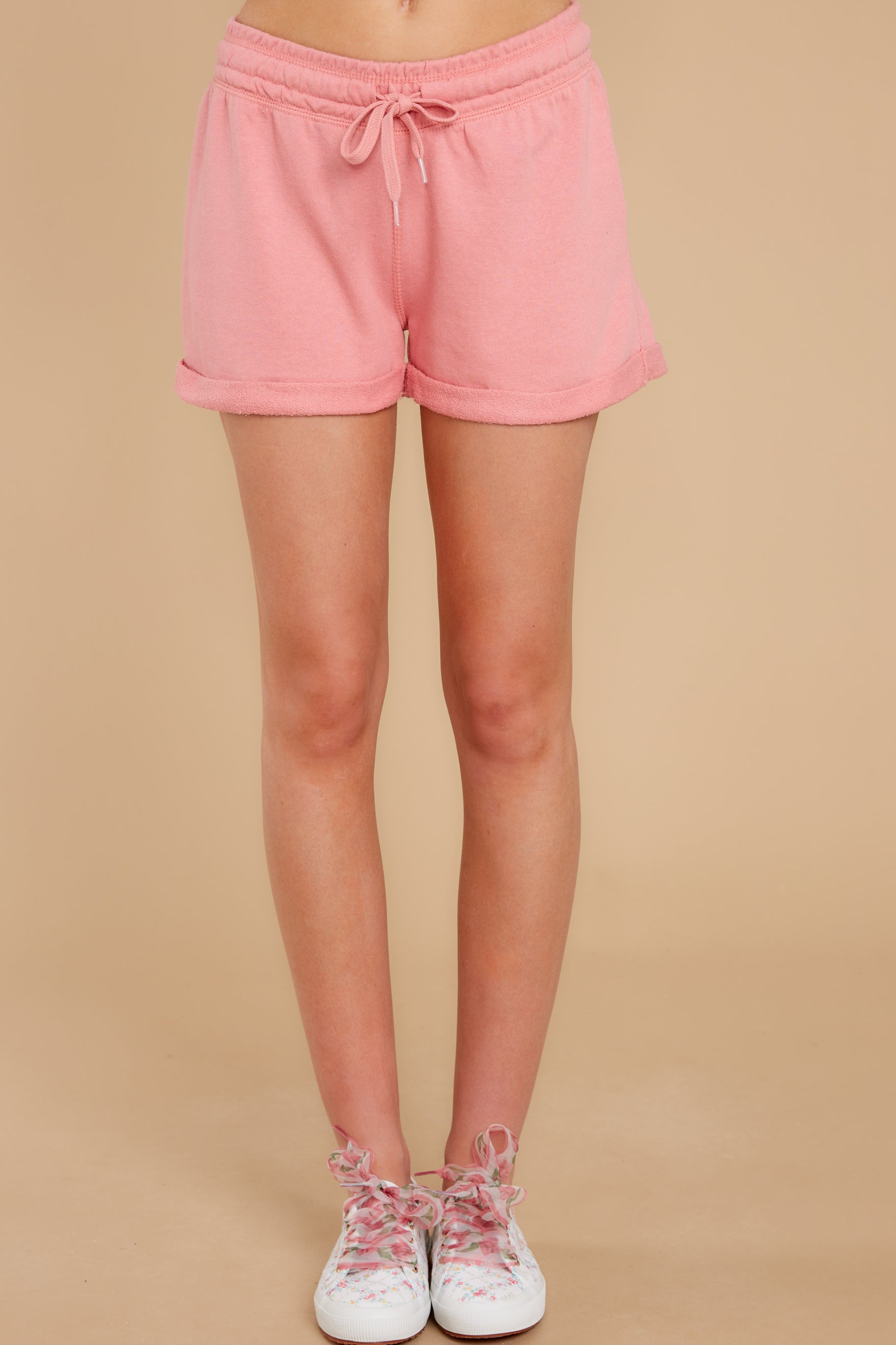 2 Such A Sweetheart Rose Pink Shorts at reddress.com
