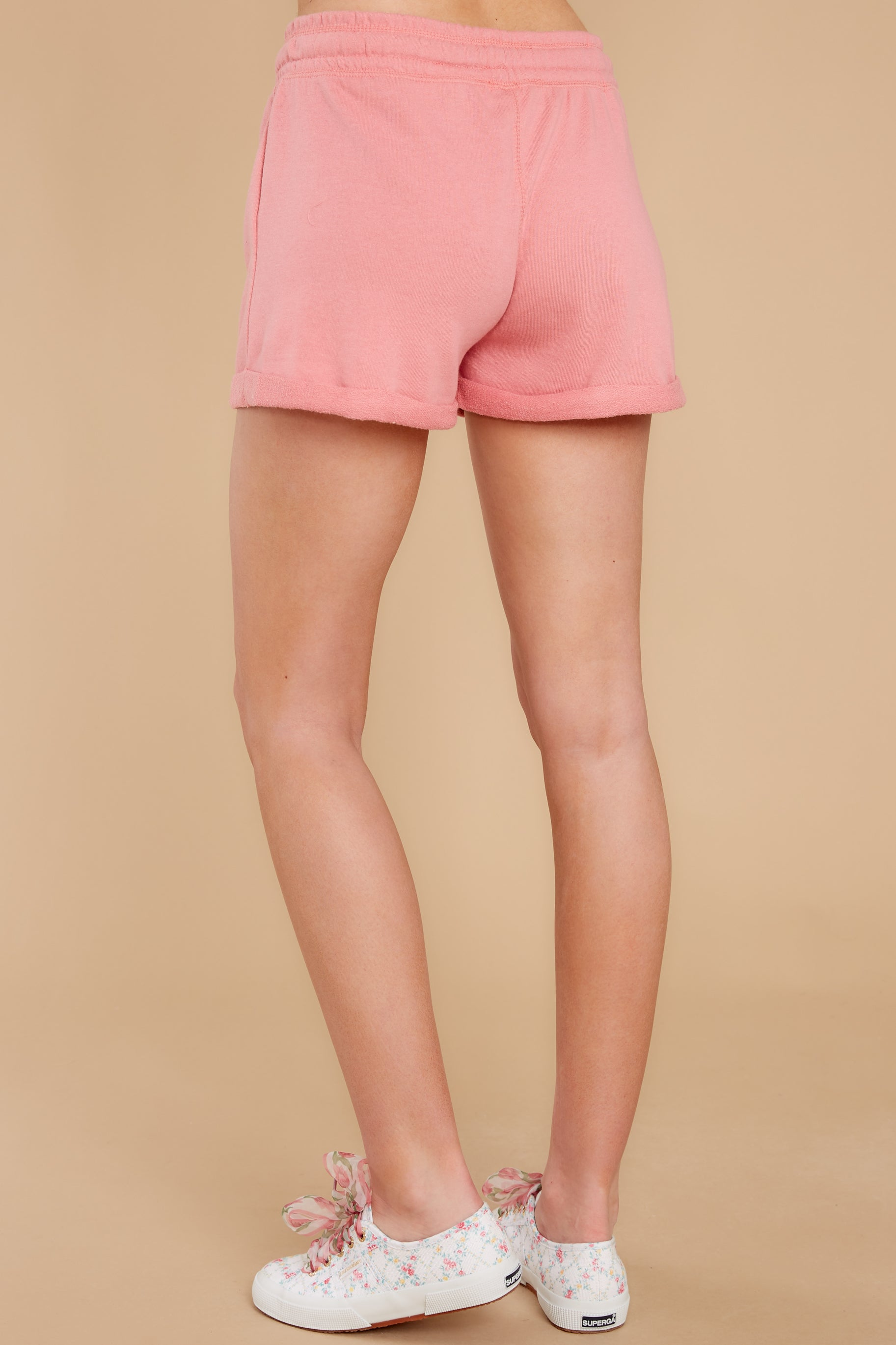 3 Such A Sweetheart Rose Pink Shorts at reddress.com