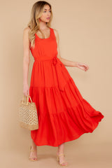 4 Leap Of Faith Red Maxi Dress at reddress.com
