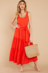 3 Leap Of Faith Red Maxi Dress at reddress.com