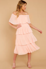 5 See It Happen Blush Pink Midi Dress at reddress.com