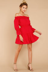 Envisioning Bliss Red Dress