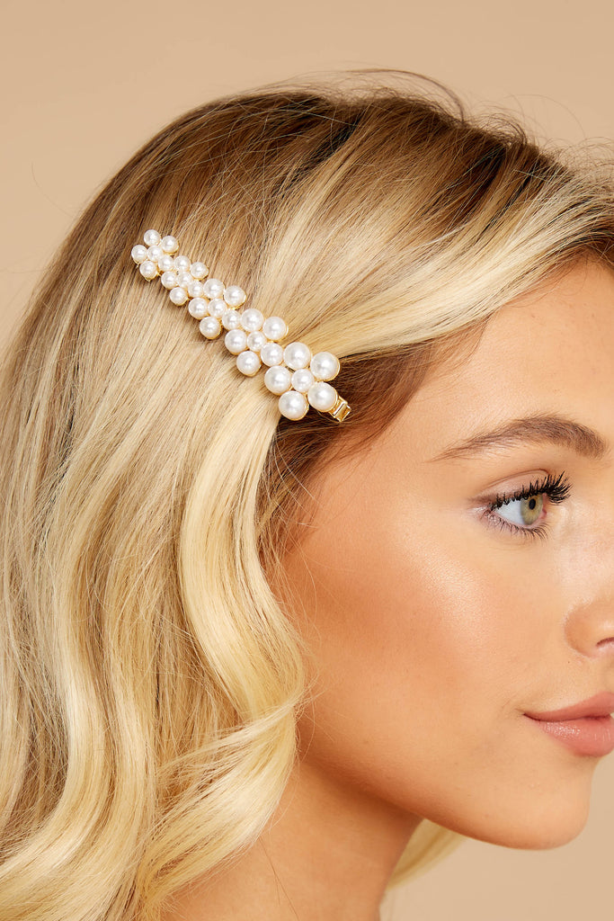 Grace And Pearls Pearl Hair Clip