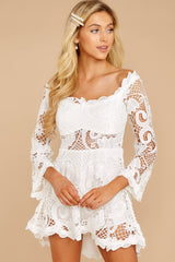 5 Angelic Allusion White Lace Romper at reddressboutique.com