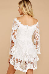 8 Angelic Allusion White Lace Romper at reddressboutique.com