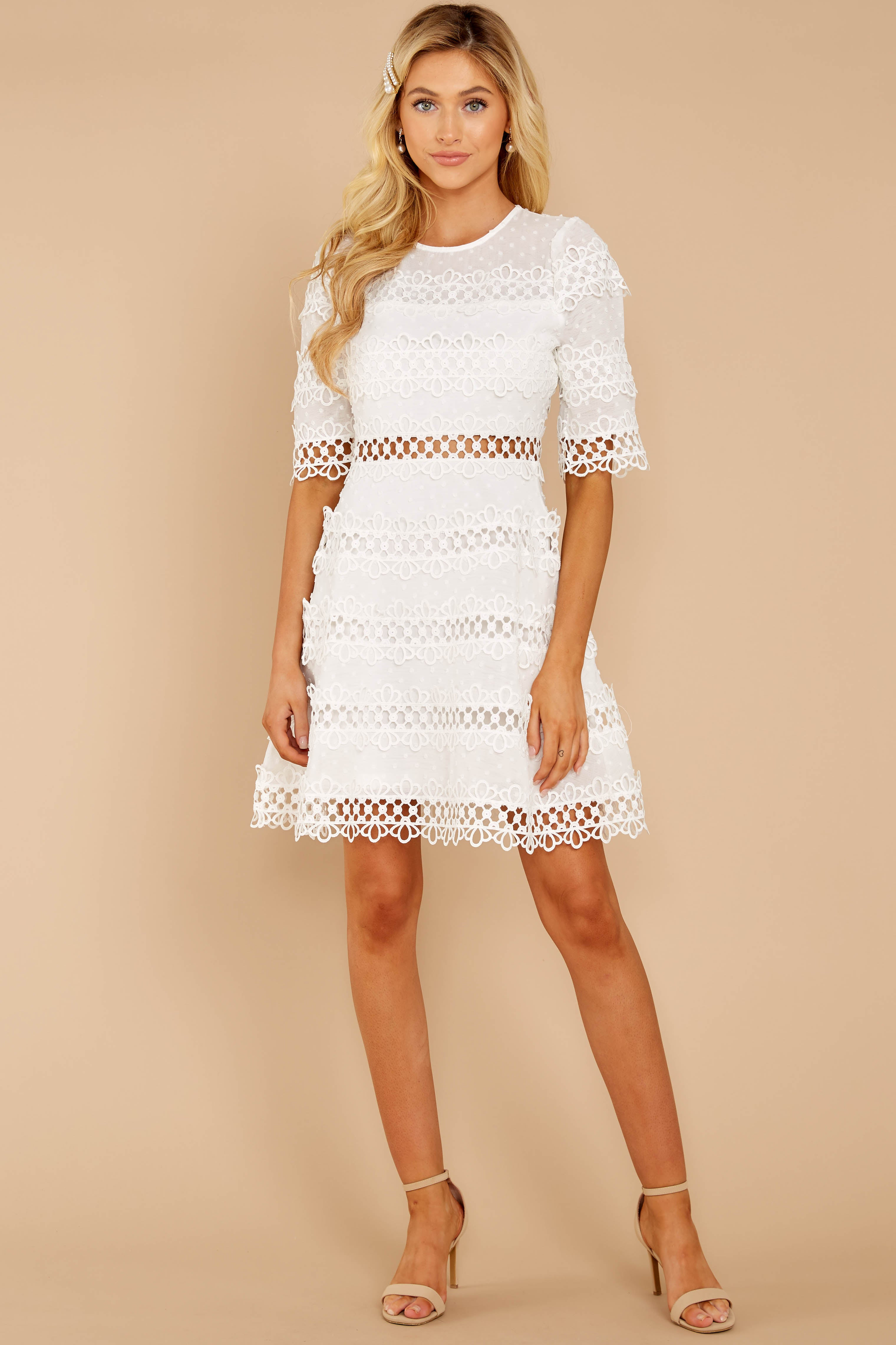 85122d7b9e4dc Poetic Situation White Lace Dress