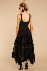 8 Above And Beyond Black Maxi Dress at reddress.com