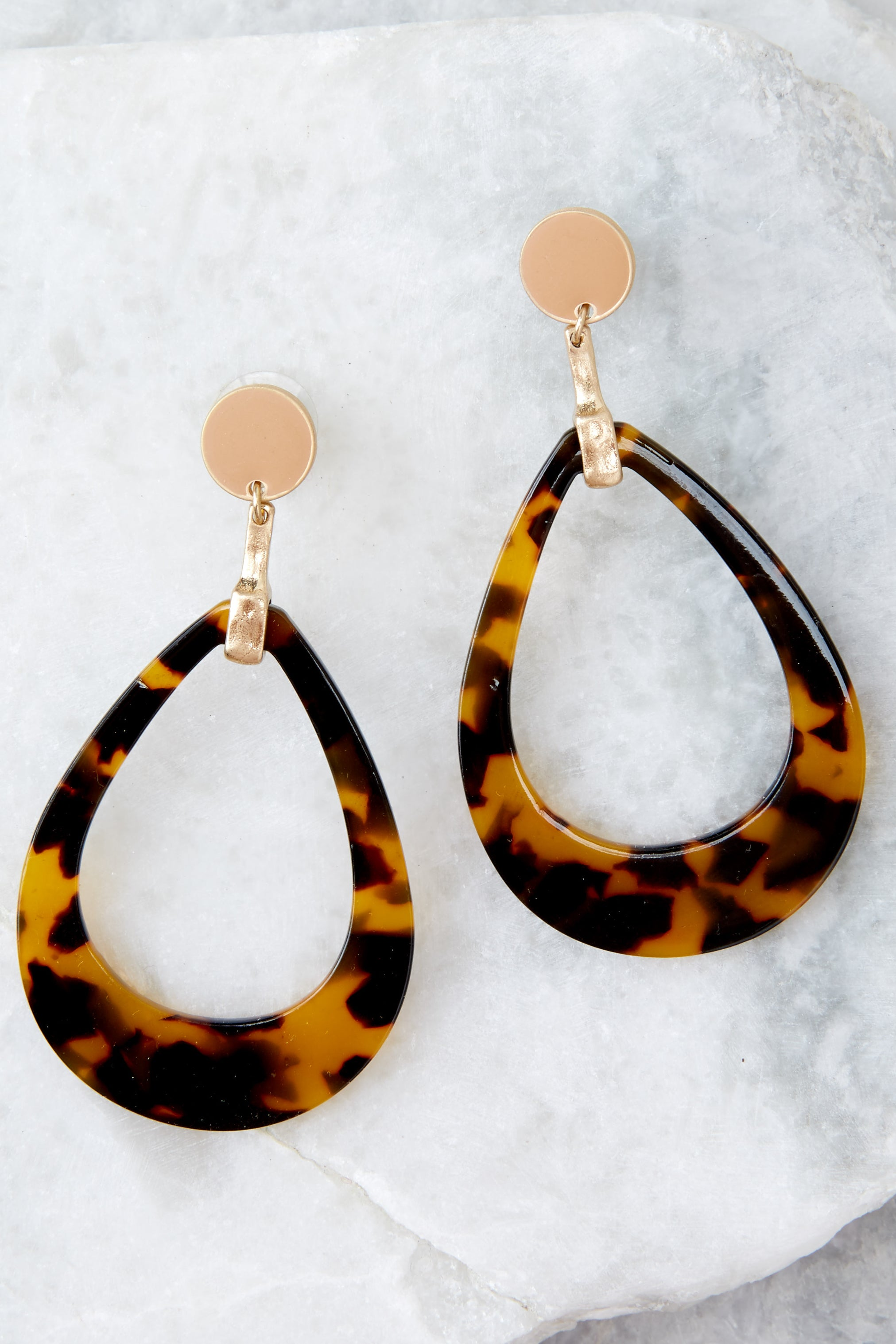 marble earrings tortoise geometric chic boho usjewelryhouse products