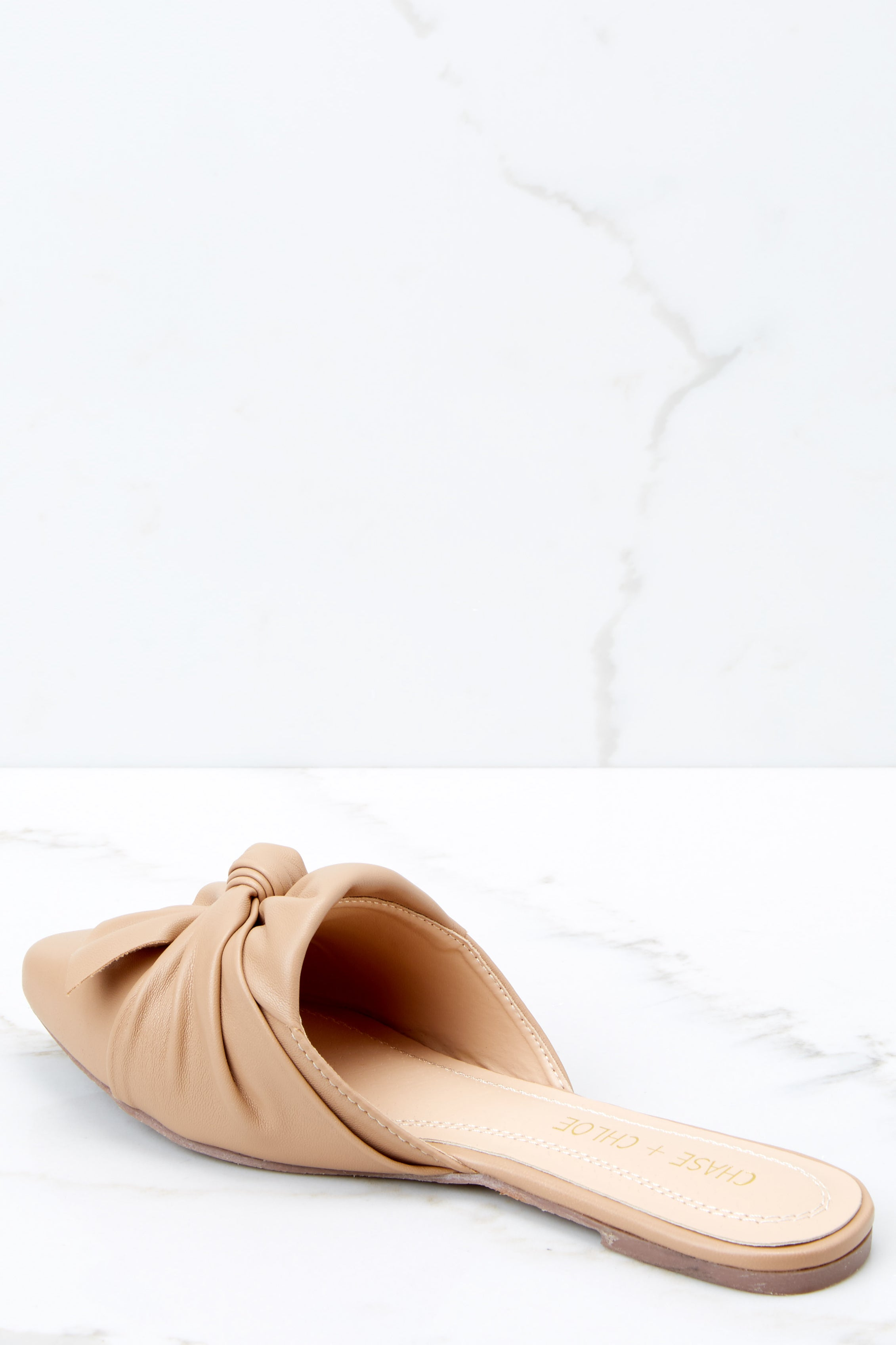 3 Set It Aside Nude Loafers at reddressboutique.com
