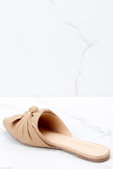 3 Set It Aside Nude Loafers at reddress.com