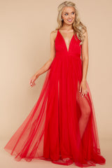 4 Matters Of The Heart Red Maxi Dress at reddressboutique.com