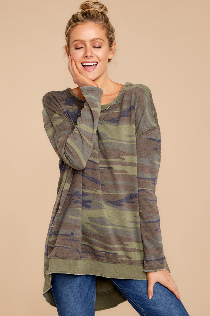 1 Modern Light Sage Camo Weekender at reddress.com