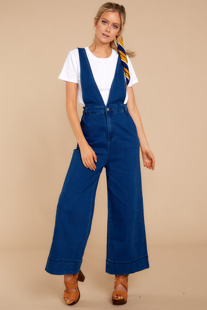 1 Overall Better Than Average Rust Overalls at reddressboutique.com