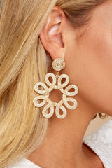 4 Just That Good Gold Earrings at reddressboutique.com