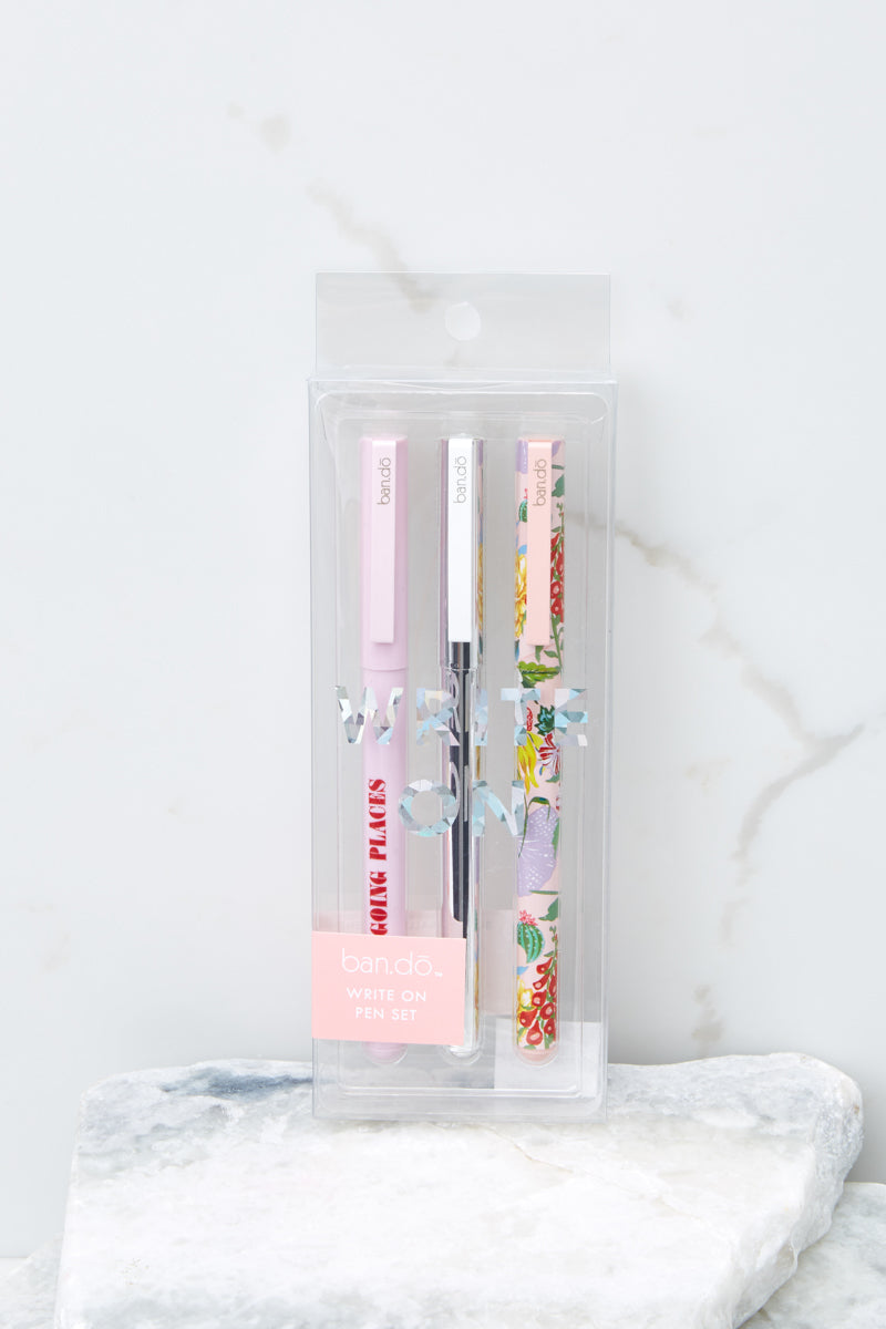 Garden Party Write On Pen Set
