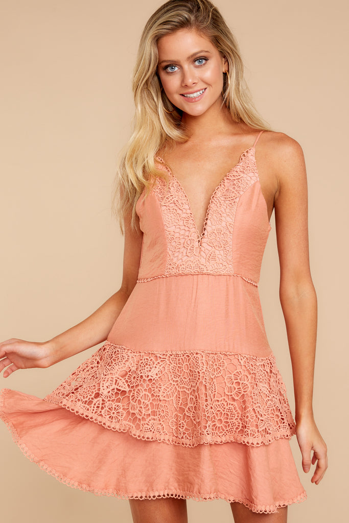 2 Everlasting Fairytale Pink Dress at reddressboutique.com