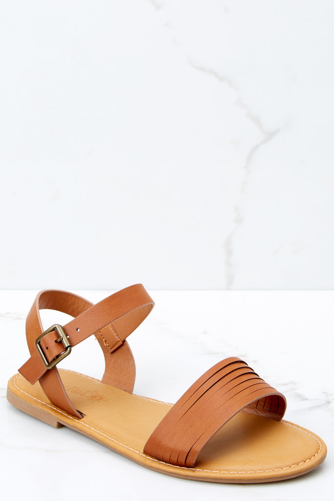 1 Nelly Sandals In Off White at reddressboutique.com