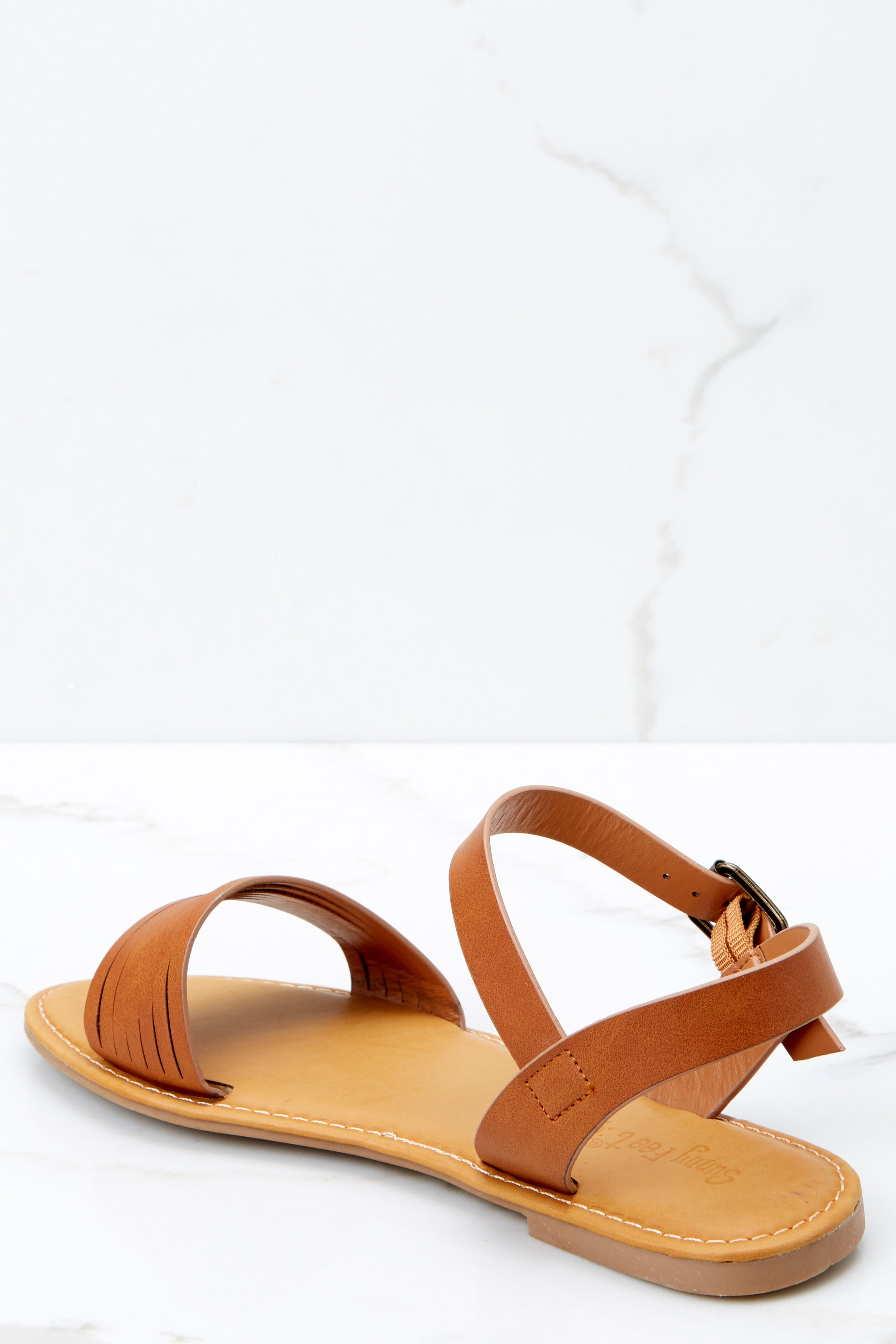 3 Right To You Brown Sandals at reddressboutique.com
