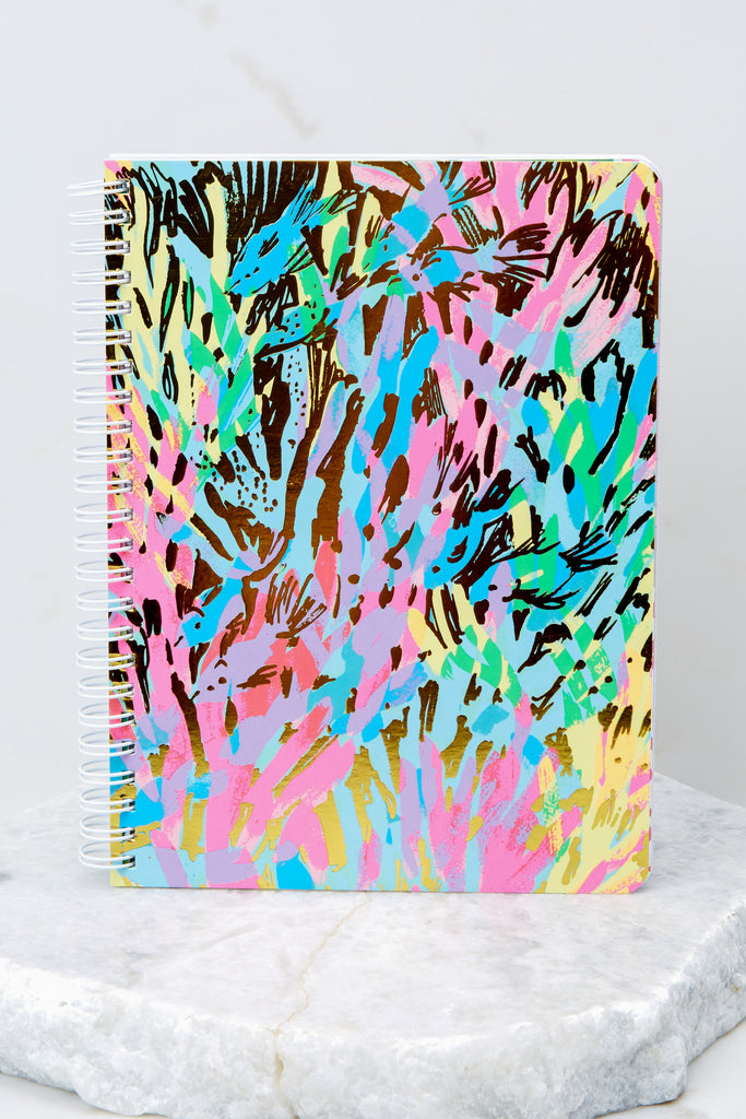 Sparkling Sands Mini Notebook. Lilly Pulitzer