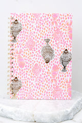1 Raz Berry Heart And Sole Notebook at reddressboutique.com