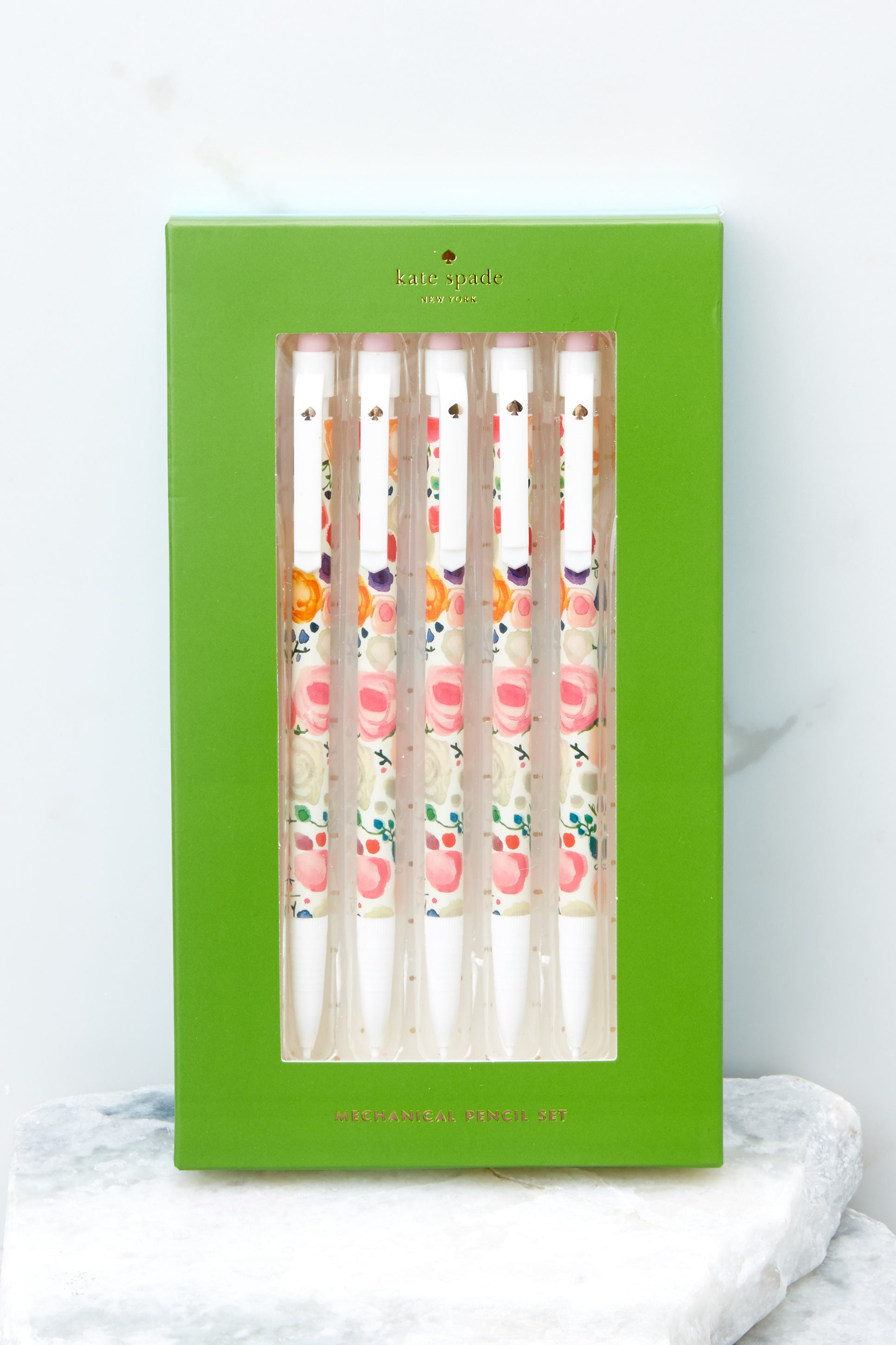1 Floral Mechanical Pencil Set at reddressboutique.com