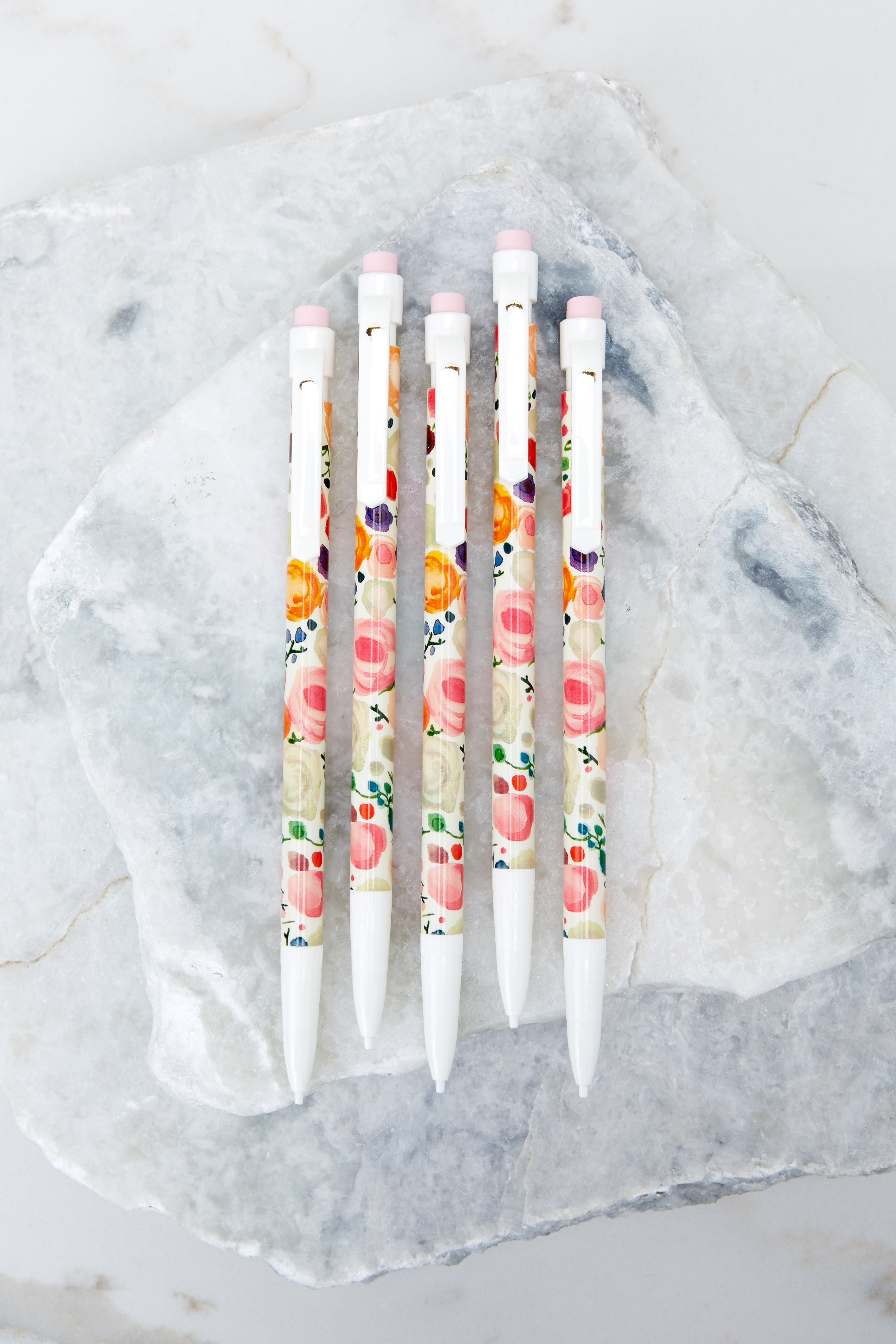 1 Floral Mechanical Pencil Set at reddress.com