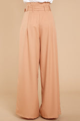Well Known Business Taupe Pants