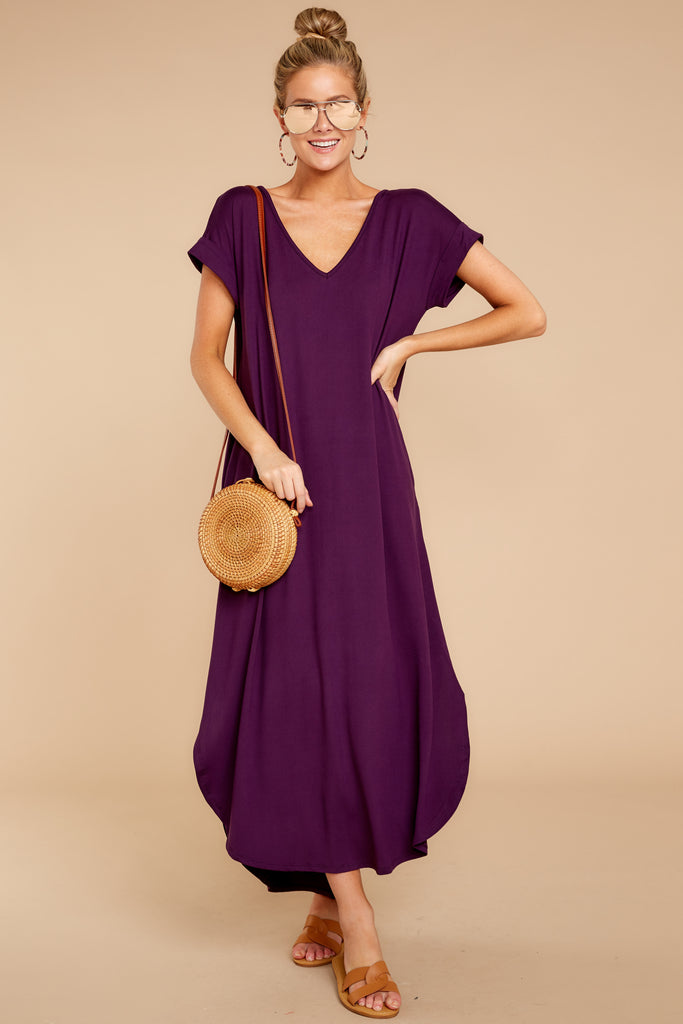 1 Close Your Eyes Lilac Maxi Dress at reddressboutique.com