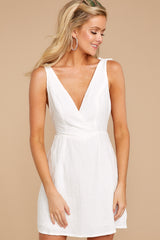 1 Feeling Your Best White Dress at reddressboutique.com
