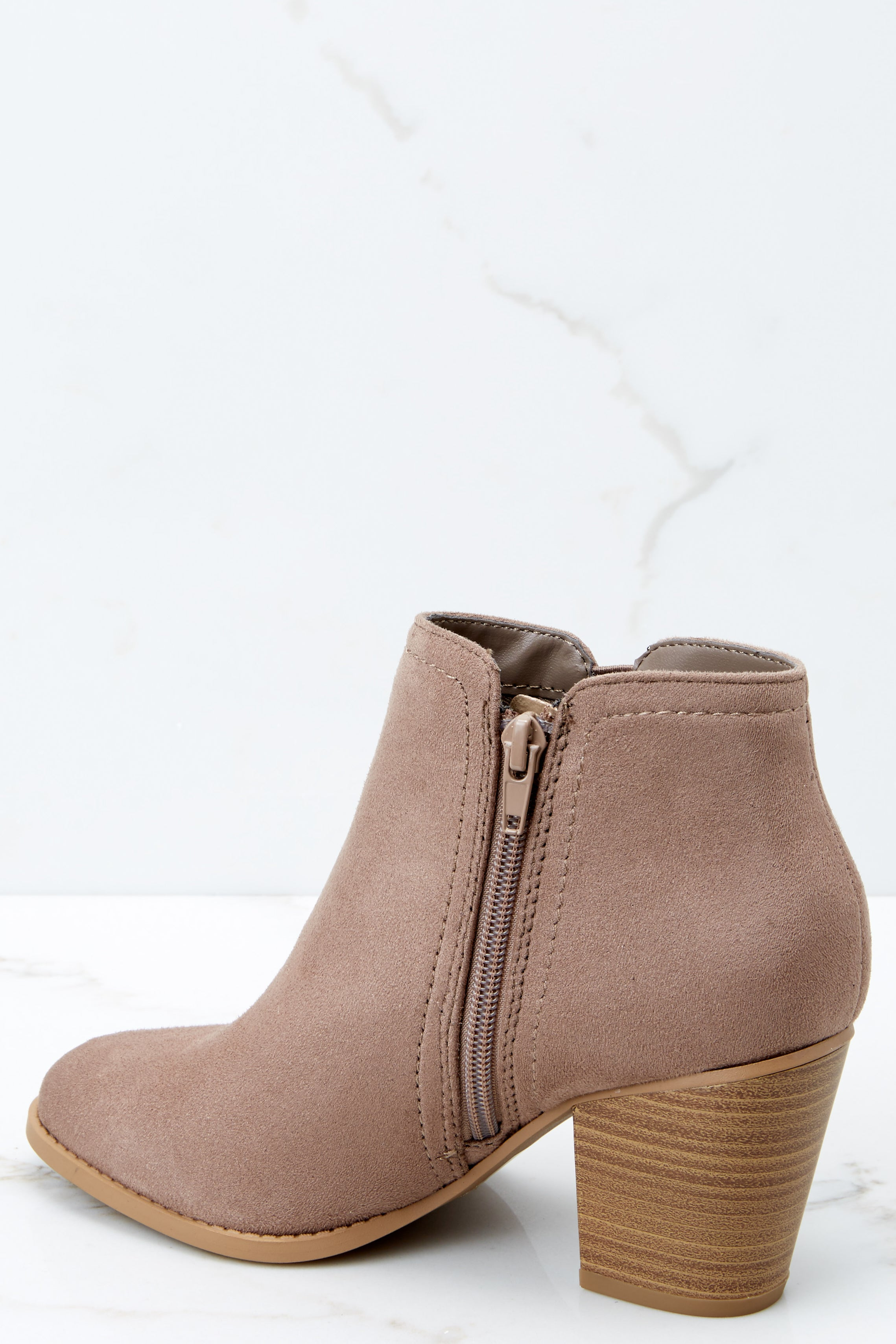 028fb8c5d8f7 Trendy Taupe Ankle Bootie - Ankle Booties - Boots -  36.00 – Red Dress