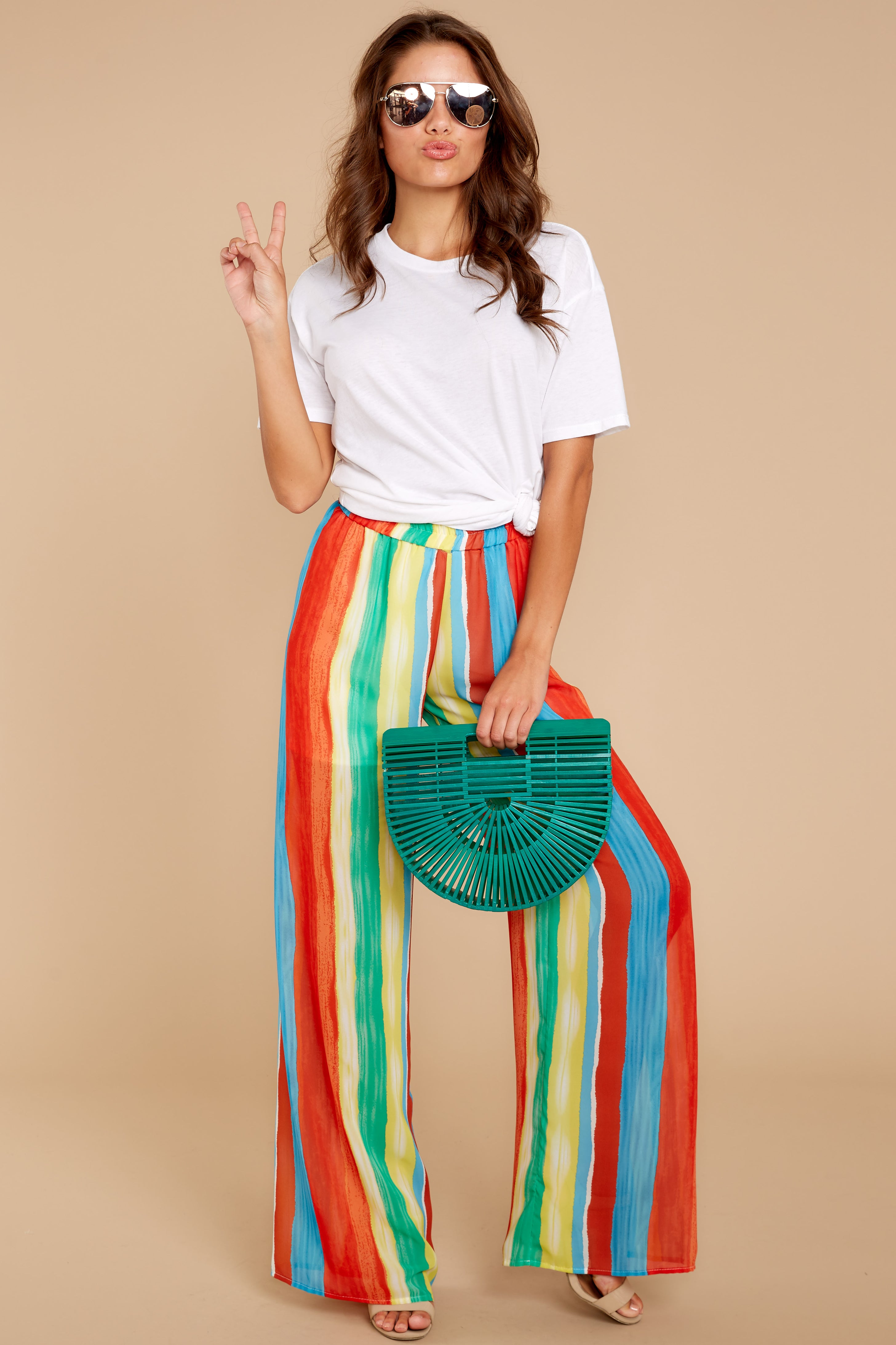 5 That Summer Pants In Island Time at reddressboutique.com