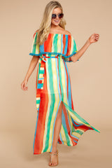 5 Everyday Vacay Maxi Dress In Island Time at reddressboutique.com