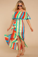 8 Everyday Vacay Maxi Dress In Island Time at reddressboutique.com