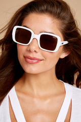 3 20's White Sunglasses at reddress.com