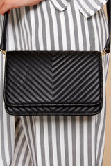 4 Totally Chic Black Purse at reddressboutique.com