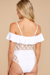 7 Cool For The Pool White One Piece at reddressboutique.com