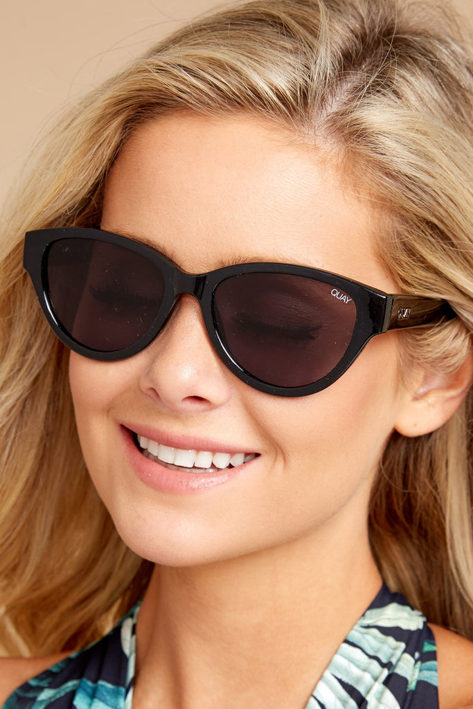Kim Gold Blue Sunglasses