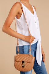 1 Goes With It All Brown Purse at reddressboutique.com